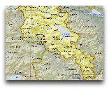 Армения: Карта Армении