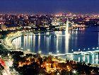 Азербайджан: Ночная панорама