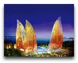 Азербайджан: Ночное Баку