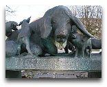 Дания: Памятник в Орхусе