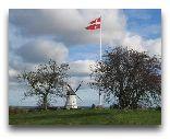 Дания: Cельский пейзаж