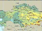 Казахстан: Карта Казахстана