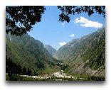 Киргизия: Ущелье Ала-Арча