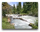 Киргизия: Река Кара-Коль