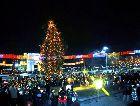 Молдавия: Новогодняя площадь Народного собрания