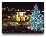 Молдавия: Новогодний Кишинев