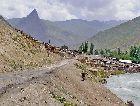 Таджикистан: Горный поселок