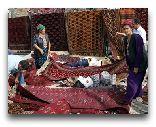 Туркменистан: Ковровый базар