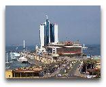 Украина: Гостиница «Одесса» и морской вокзал