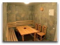 отель Krunk: Помещение для отдыха в сауне