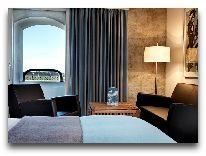отель Admiral: Спальня номера Сьют с видом на море