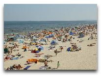 санаторий Admirał I: Пляж