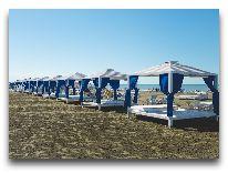 отель AF Hotel Aqua Park: Шатры на пляже