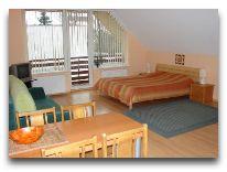 отель Aitvars: Двухкомнатный с балконом и миникухней
