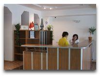 отель Акун Иссык-Куль: ресепшен