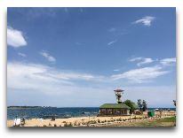 отель Акун Иссык-Куль: Пляж отеля