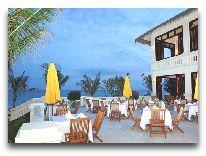 отель Allezboo Beach Resort & Spa: Ресторан под открытым небом