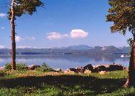 отель Алмаз: Вид на озеро