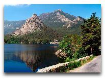 отель Алмаз: Озеро где расположен Алмаз