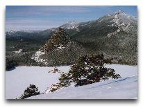 отель Алмаз: Озеро зимой