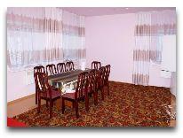 отель Алмаз: Столовая комната в VIP коттедже