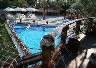 отель Альтримо: Вид на летнюю терассу