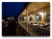 отель Ambasadori: Открытая веранда