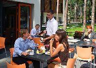 отель Amber Sea Hotel&SPA: Летняя терраса
