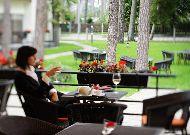 отель Amber Sea Hotel&SPA: Вид с летней террасы ресторана