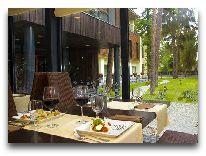 отель Amber Sea Hotel&SPA: На летней террасе ресторана отеля