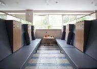 отель Amber SPA Boutique Hotel: Помещение для хранения личных вещей в бане