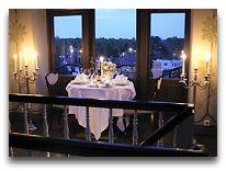 отель Ammende Villa: Ужин в башне