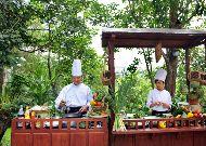 отель Ana Mandara Villas Dalat Resort & Spa Hotel: В ресторане