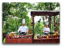 отель Ana Mandara Villas Dalat Resort & Spa Hotel: В ресторане