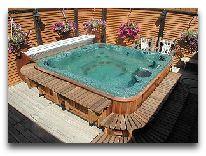 отель Aparjods Hotel: Ванна-джакузи в сауне