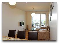 отель Апартаменты ул. Ванагупес, 26 (2+2): Гостиная