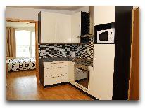 отель Апартаменты ул. Ванагупес, 26 (2+2): Кухня