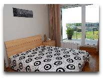 отель Апартаменты ул. Ванагупес, 26 (2+2): Спальня