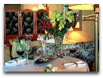 отель Apvalaus Stalo Klubas: Ресторан