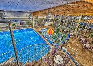 отель AQVA Hotel & Spa: Вид на бассейн