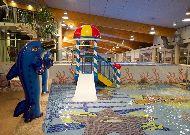отель AQVA Hotel & Spa: Детская горка