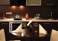 отель Ararat: Кухня в апартаментах