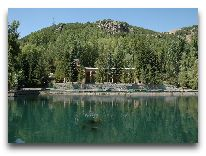 отель Armenia Wellness & Spa Jermuk: Панорама местности