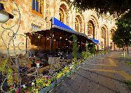 отель Armenia Marriott Hotel Yerevan: Открытое кафе