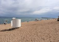 отель Аврора: Пляж отеля