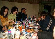юртовый лагерь Aydar yurt camp: Ужин