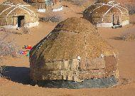 юртовый лагерь Aydar yurt camp: Юрты