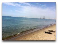 отель Aysberq: Пляж