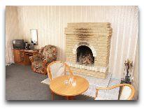 отель Балтийская жемчужина: Люкс с камином