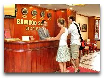 отель Bamboo Sapa Hotel: Reception